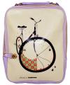 """Сумка-рюкзак """"Велосипед"""" (фиолетовый)"""